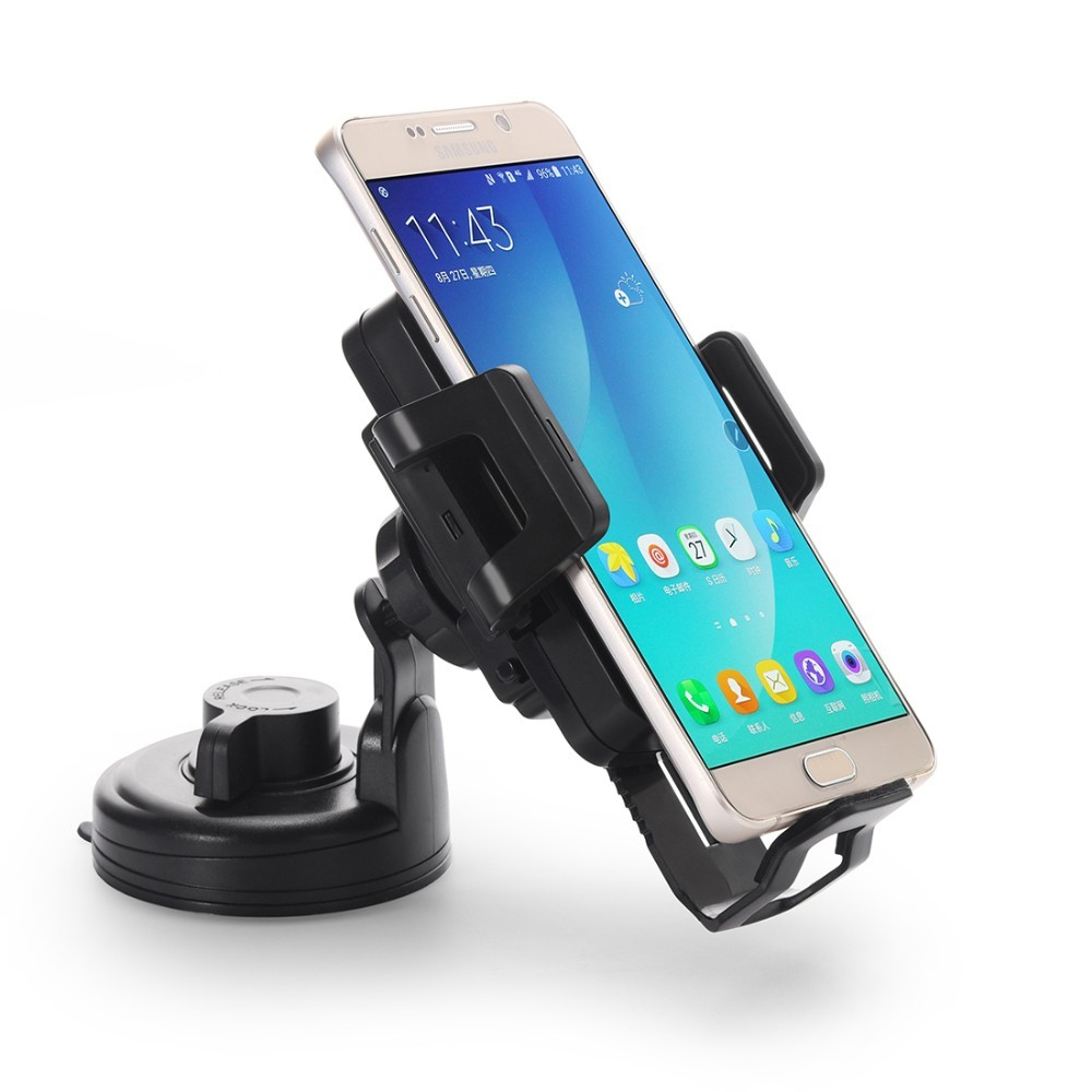 qi Car Mount Wireless Charger Holder Fast Quick Charge 2A Magnetic Wireless Car Charger for Samsung iPhone