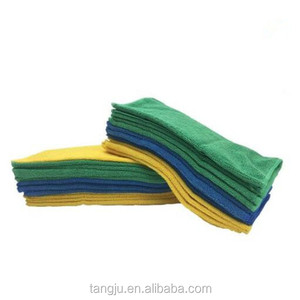 Multi-colors micro fiber cleaning towels microfiber polyester polyamide fabric cloth for car kitchen