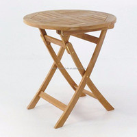 Folding table wooden dining table