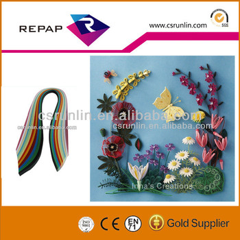 Fancy Color Quilling Paper For Diy Handmade Crafts Buy Paper