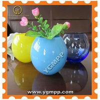 2013 New glass floral vases,glass flower vase