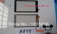 50Pcs/Lot For Motorola Milestone A855 XT720 Touch Panel Digitizer Phone Parts Original Touch Glass Screen ;DHL EMS Free Shipping