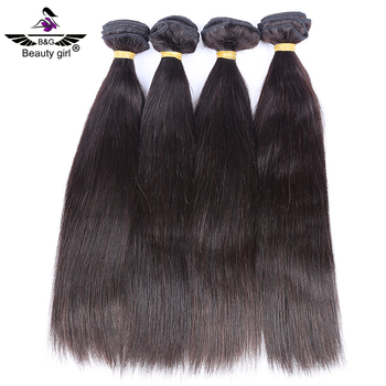 9a Grade Unprocessed Malaysian Straight Human Hair Weave With