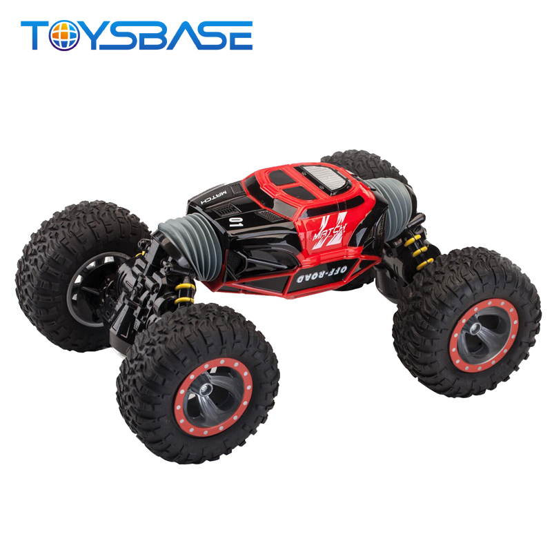 RC Toy Child Guangzhou 4WD High Speed Radio Control Vehicle Stunt Track Remote Control Car Toy