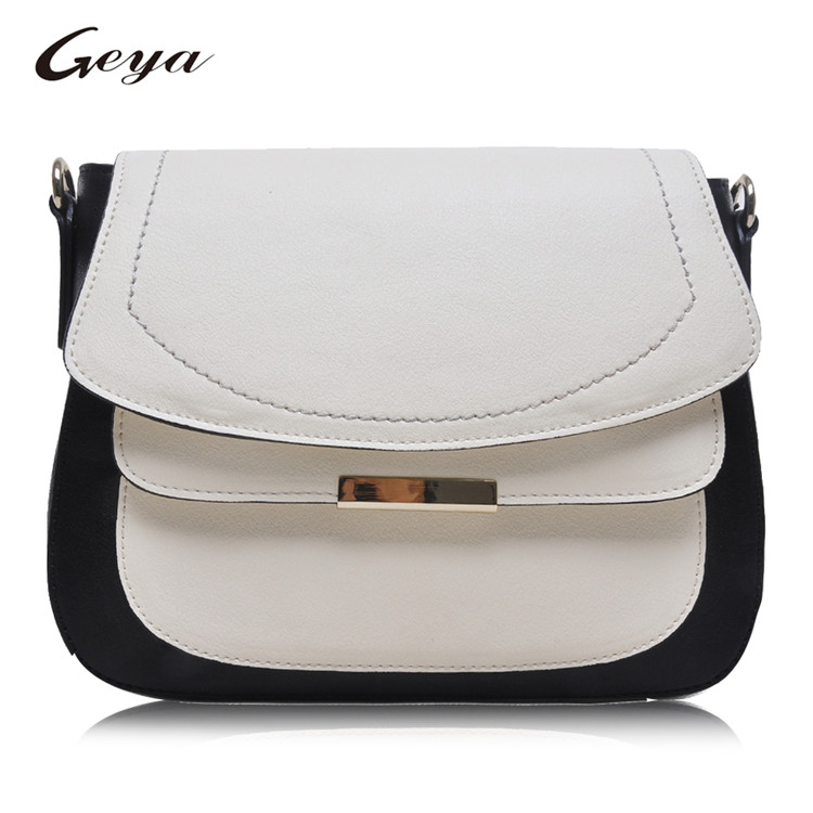 2016 Ladies Cow Leather Bag Women Crossbody Bag Girls Leather Bag Manufacturer China
