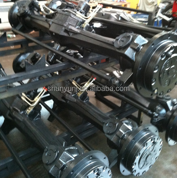 Tractor Front Axle Parts : Jinma dongfeng tractor parts front drive axle view