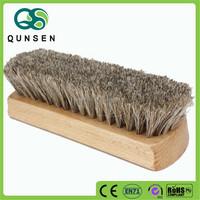 high quality wooden custom horse hair brush