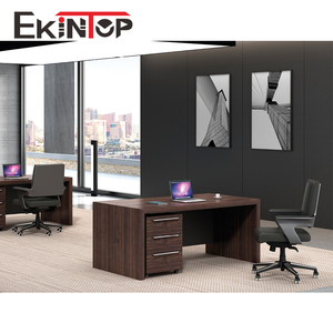 Ekintop imported latest modern elegant design size cheap price secretary mdf wooden staff executive office table photos