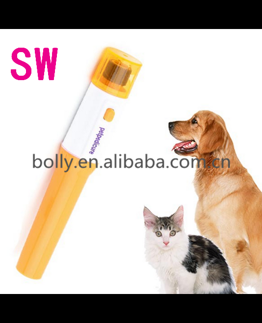 Pet Dog Cat Nail Grooming Grinder Trimmer Clipper Electric Nail File Kit Useful