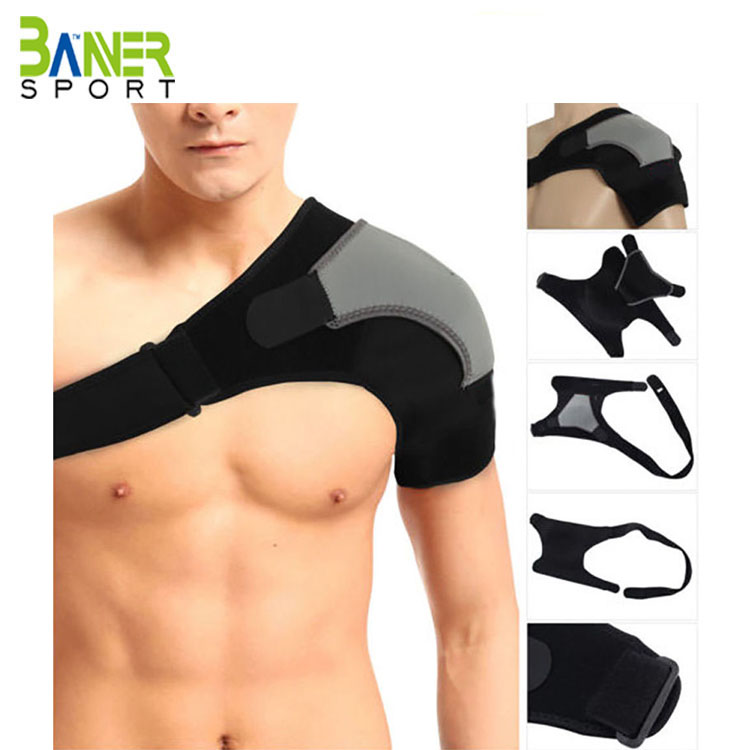 <strong>Shoulder</strong> Stability Brace with Pressure Pad Light and Breathable Neoprene <strong>Shoulder</strong> Support Compression Sleeve for <strong>Shoulder</strong> Pain