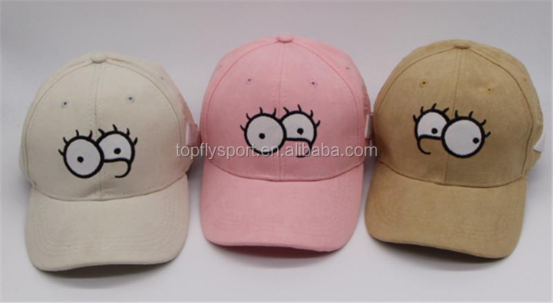 Custom Suede Baseball Cap With Cute Embroidery Pokemon Logo Baseball ... 4b936d606265