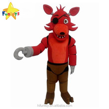 Funtoys CE Five Nights At Freddy's Red Fox Game Character Mascot Costume