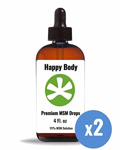 Premium, Liquid MSM Drops. [2 Pack]