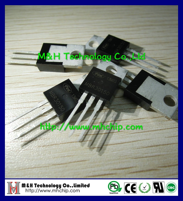 MBR30150 30A 150V high voltage schottky rectifiers