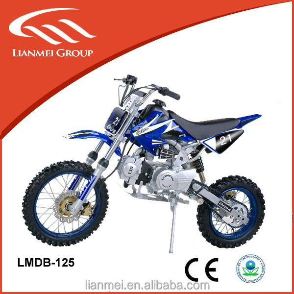 CE High quality Manual racing pit bike 125cc motorcycles dirt bike