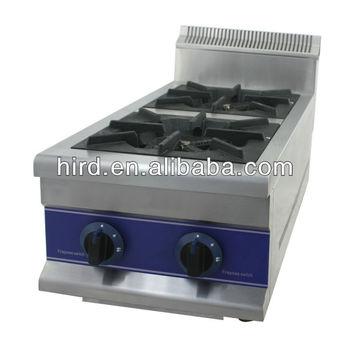 Efisiensi Tinggi Dua Kepala Dapur Pembakaran Gas Tungku Claypot Gbr 2