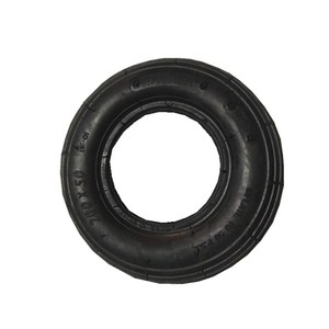 200x50 China factory high quality eco-friendly toy natural rubber wheel pure rubber toy tyre