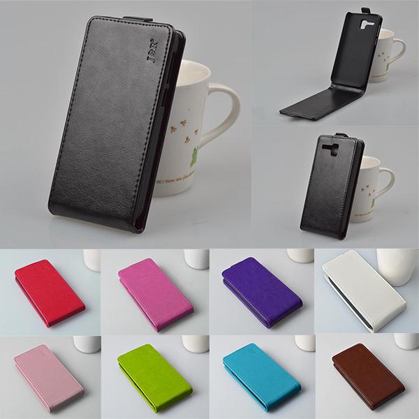 PU Leather Case Cover For Lenovo Golden Warrior A8 A806 A808T A 806 Phone Case Original