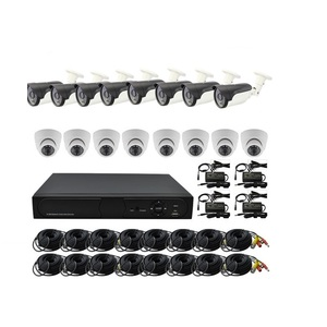 Best Price!!! 16Chs Economic CCTV Security Camera System, Easy to use home alarm system