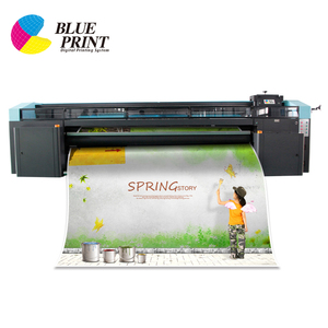 Blueprint Large wide format roll to roll UV printer