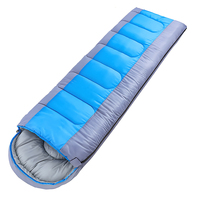 100% Polyester Lining Waterproof Custom Sleeping Bag Cold Weather Sleeping Bag Travel Sleeping Bag