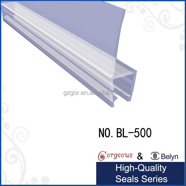 clear plastic shower door seal for 90 degree buy plastic sealplastic seal shower door seals product on alibabacom