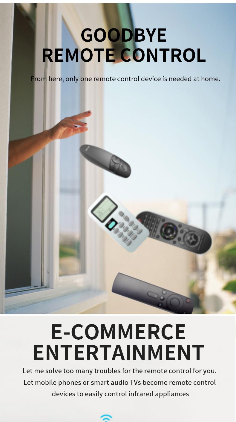 2019 New Alexa Google Assistant Smart WIFI IR Remote Control