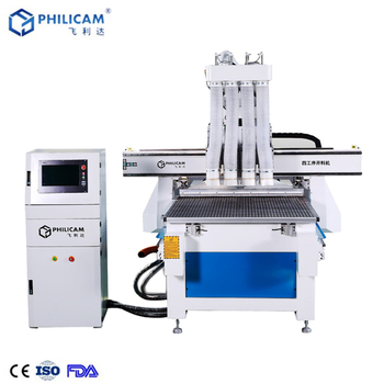 China multi spindle woodworking machine / wood furniture machinery