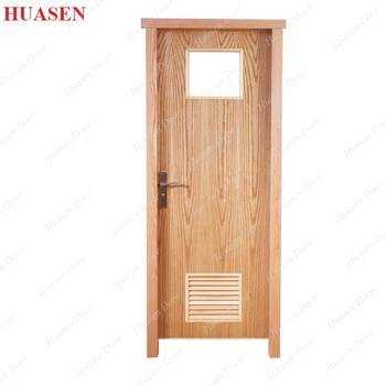Pvc Bathroom Louver Door Design