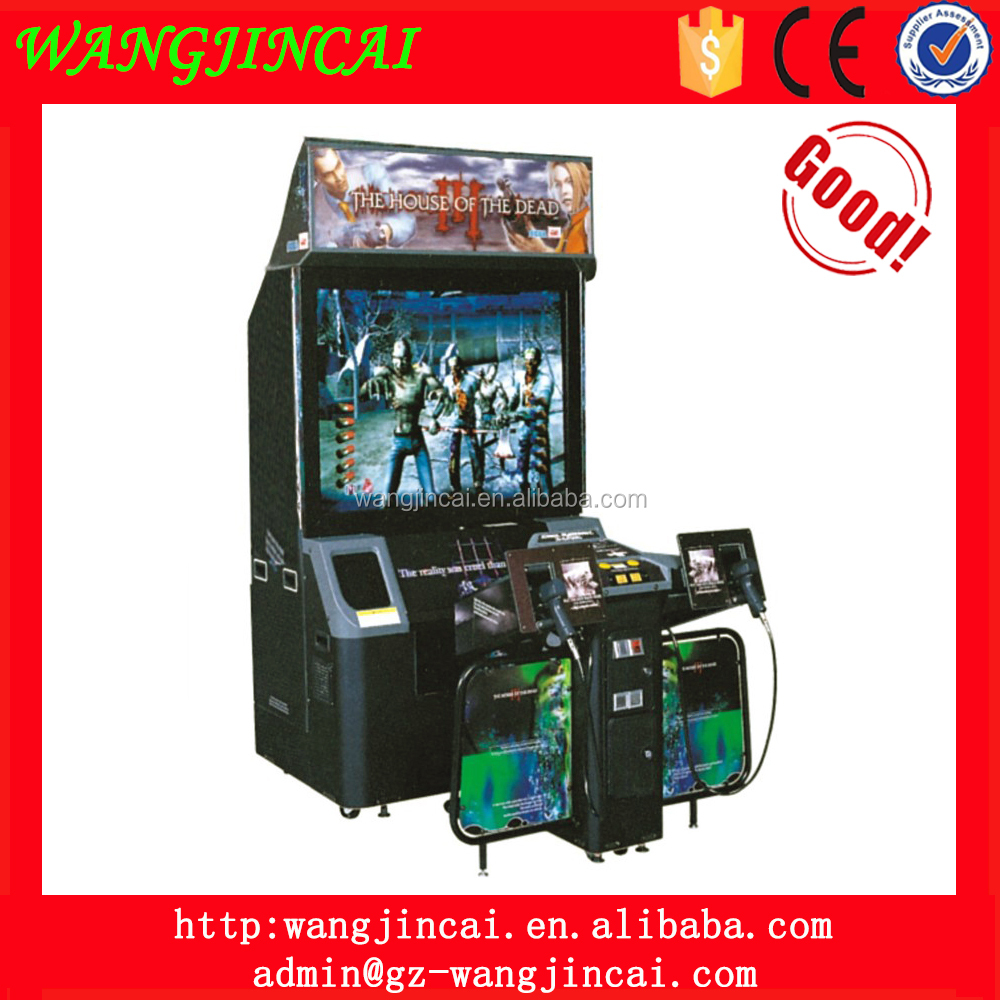 coin operated gun shooting video arcade machine the house of the dead 3 amusement simulator games machines