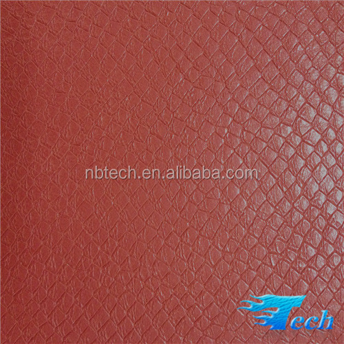 100% PU tote bag leather bag making material bag material