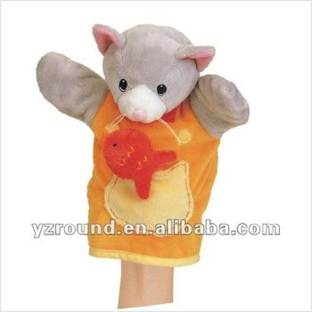 Stuffed Animal Pattern Cat Hand Puppet Glove Doll Toy Gift Buy Awesome Hand Puppet Pattern