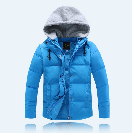 New 2015 children outerwear winter Hooded coats Winter jackets for girls Kids Coat children's winter clothing Boys Down & Parkas