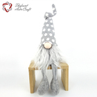 Funny crafts decoration felt sewing christmas plush gnome toys