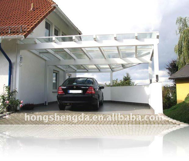 Aluminum Frame Car Shelter - Buy Steel Car Shelter,Polycarbonate ...