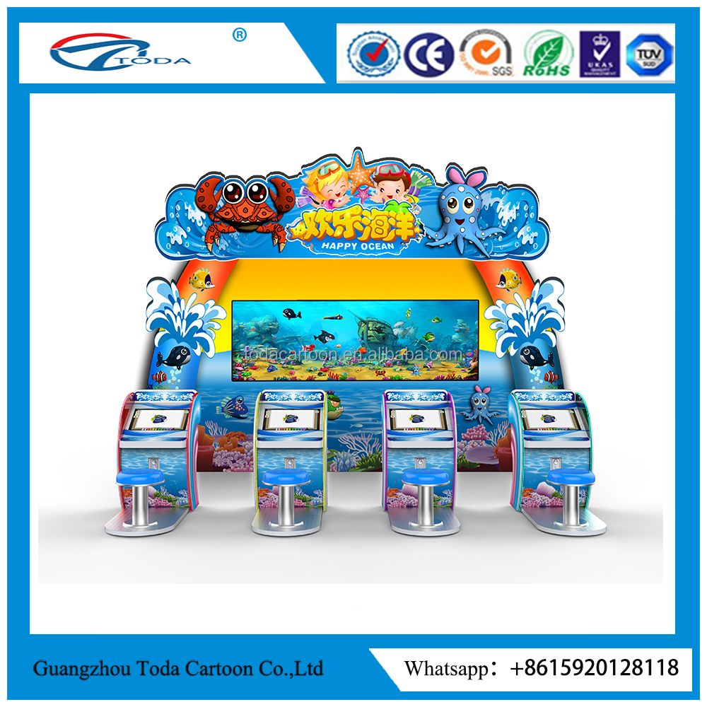 arcade game machine redemption machine game machine Happy Ocean Attract popular large interactive game