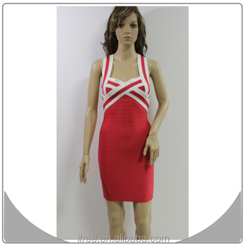 Sexy Straps Spaghetti Tight Fitted Bandage Peach Prom Dress Buy