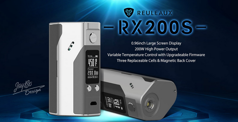 Factory Price Wholesale Wismec New Coming 200w Mod Wismec Reuleaux RX200S