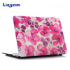 Red flower pattern protect skin case for macbook air 13 inch