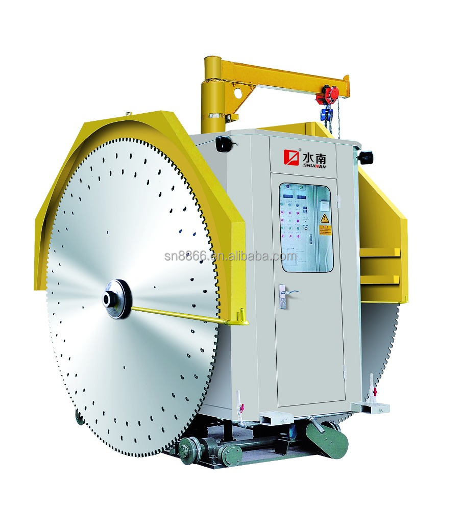 double blade stone cutting machine