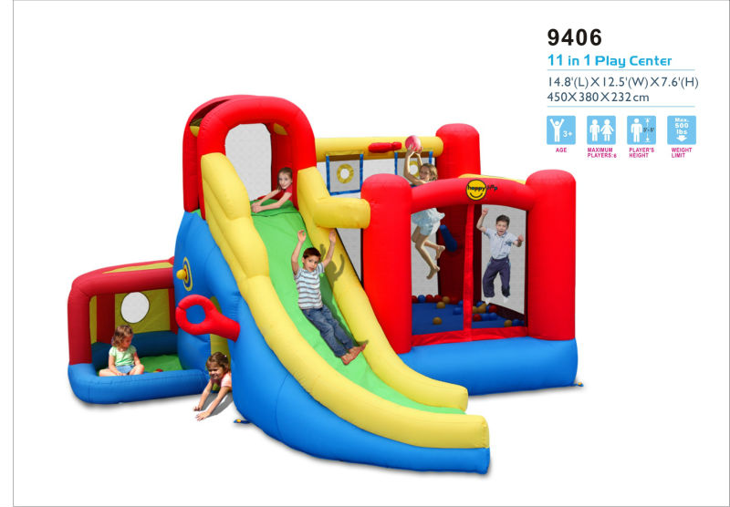 Happy hop Play Center-9406 11 in 1 Play Center
