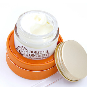 Anti-aging face acne scar removal skin care moisturizing horse oil cream