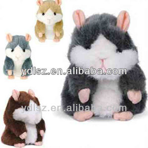 zoo hamster animal toys with repeat function for toy