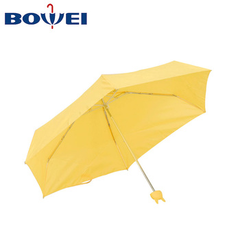 China manufacturer windproof portable folding  mini umbrella with cute rabbit handle paraguas