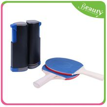 Bag packing table tennis rackets set h0tXm flexible extension indoor nylon table tennis net for sale