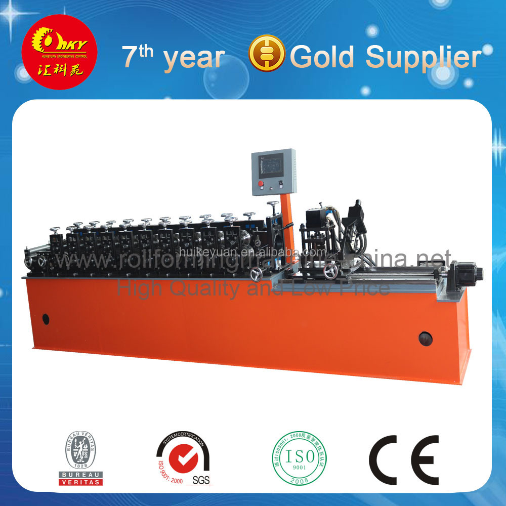 Metal ceiling cross T bar roll forming machine