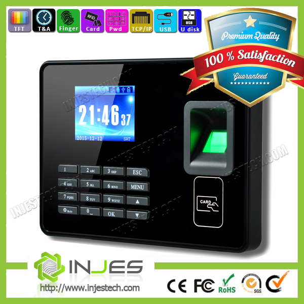 Free Software TCP/IP Fingerprint Reader Online Employee Time Clock (MYA8)