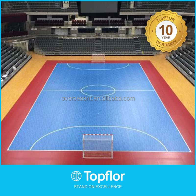 Indoor Futsal PVC Flooring sports flooring futsal rubber flooring
