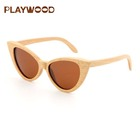 2019 Top Selling Beech Wood Sun Glasses Sunglasses Make Your Logo Eyewear Customized