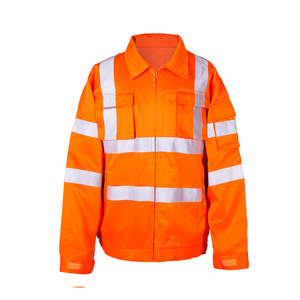 promotional uniform Reflective Winter Sleeveless safety work clothes